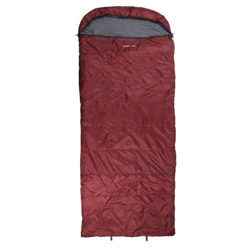 10T Schlafsack Kodiak -21° warm weich 2660g leicht XXL Deckenschlafsack 235x100 Rot