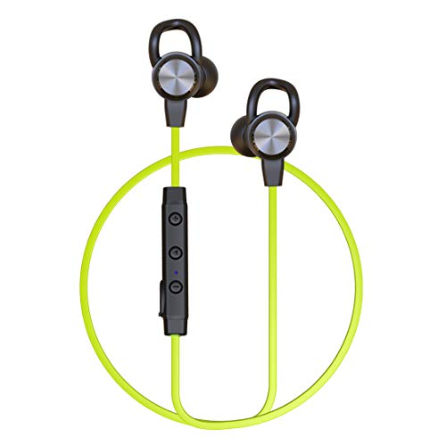 Bluetooth Headphones Sport,COUMI Magnetic Earbuds for Running, Wireless Earphone,8-Hour Playtime,IPX4 Waterproof,Deep Bass for Workout,Jogging,Exercise, Running, Gym,Green
