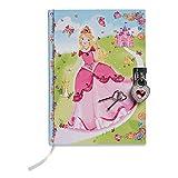Lucy Locket – Diario Infantil de Princesas – Diario Secreto con candado y Llave de Princesas – Diarios para niños