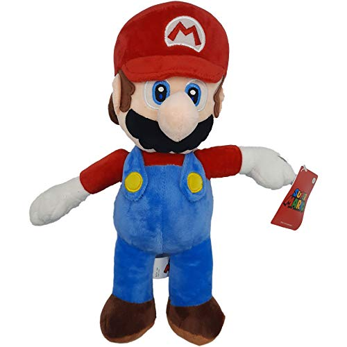 Super Mario-Kong-Luigi-Toad-Yoshi, Peluche, Peluches, 5 personnages Disponibles! (Super Mario :35cm)