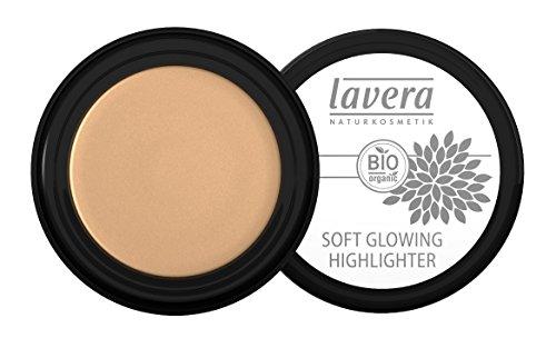 lavera Soft Glowing Highlighter ∙ Farbe  Golden Shine ∙ Schimmer für Augen & Wangen ∙ Natural...
