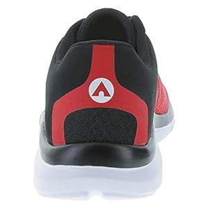 Airwalk Red Black Men's Performance Gusto Cross Trainer 12 Wide