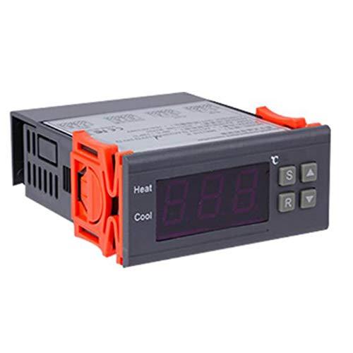 Exanko Controlador de Temperatura Digital -99-400 Grados PT100 M8 Sonda Sensor de Termopar Termostato Integrado Interruptor de 220 V