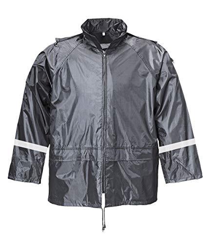 Terratrend 9405-S-1000 Regenjacke, Größe S, Schwarz, schwarz, 9405-3XL-1000