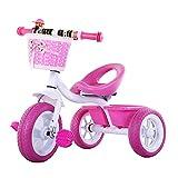 Triciclo Evolutivo Toral 2 en 1 Triciclo multifunción para niños con pedal, altura Bicicleta de entrenamiento al aire libre ajustable, para 2 3 4 años, niños y niñas, regalo de cumpleaños, bicicleta d