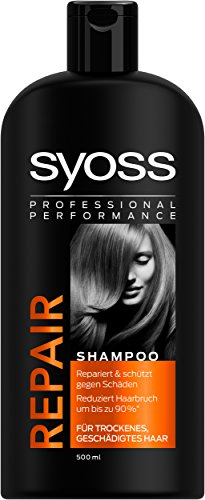 Syoss Shampoo Repair, 3er Pack (3 x 500 ml)