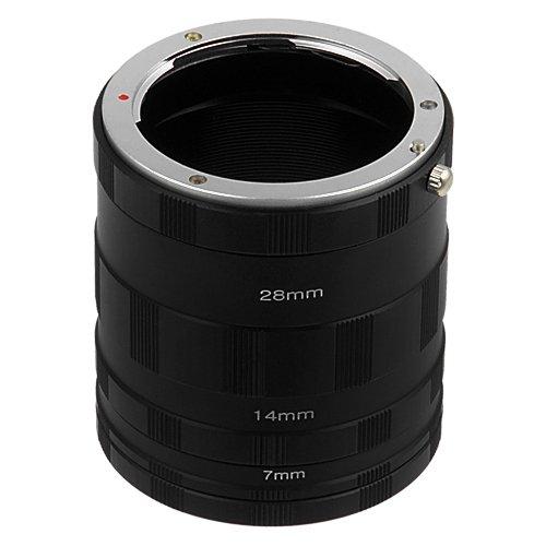 Fotodiox NEX Macro Tube Extension Kit for Extreme Macro Photography