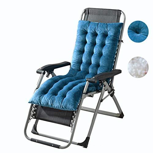 Sundlight, cuscini di ricambio per sedie a sdraio, per patio, per sedie da giardino, reclinabili, imbottiti, per viaggi, vacanze, interni, esterni, (rosso anguria, 130 x 50 x 10 cm)