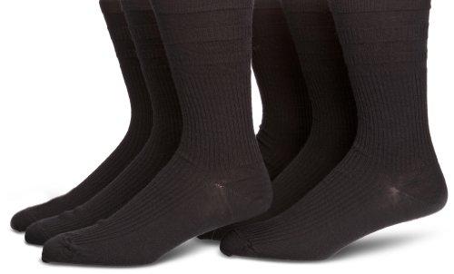 HJ Hall Herren-Socken aus Wolle Gr. XX-Large, Schwarz