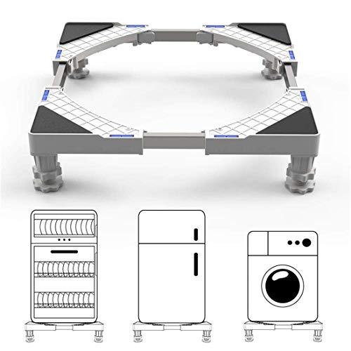 DEWEL Base para Lavadora Ajustable 44.8 a 69cm Soporta 150 kg
