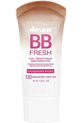 Maybelline New York Makeup Dream Fresh BB Cream, Medium/Deep Skintones, BB Cream Face Makeup, 1 fl oz