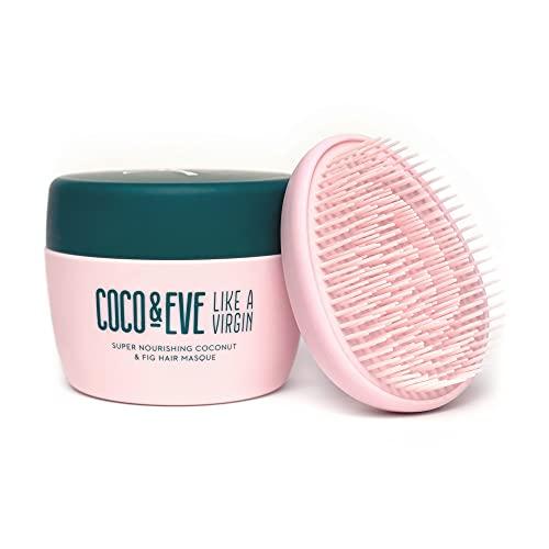 Coco & Eve Like a Virgin Haarmasker Supervoedend kokosnoot en vijgen haarmasker en diepe haarconditioner (212ml)