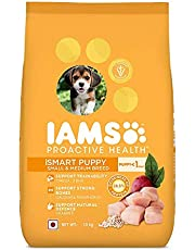 IAMS Proactive Health Smart Puppy Small & Medium Breed Dogs (<1 Years) Dry Dog Food, 1.5 kg