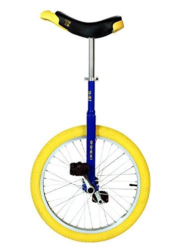 QU-AX Einrad 20 Zoll Radgröße in Allen Farben, Farbe:Chrom - 2