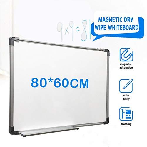 Alaskaprint Magnettafel Magnetische Tafel Wandtafel Whiteboard Magnetwand Pinnwand Weißwand Memoboard Abwischbare Tafel 80x60cm