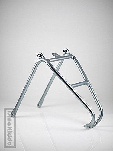 Dino Kiddo Aluminum gray Q version rear rack electroplated glossy for Brompton Folding Bike