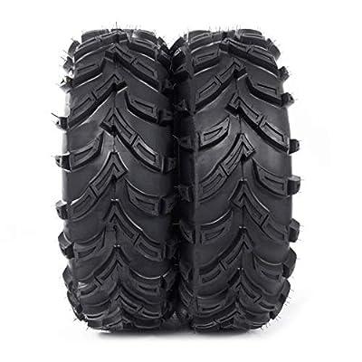 Set of 2 26x11-12 ATV UTV Tires 26x11x12 All Terrain Tires Tubeless 6PR P377