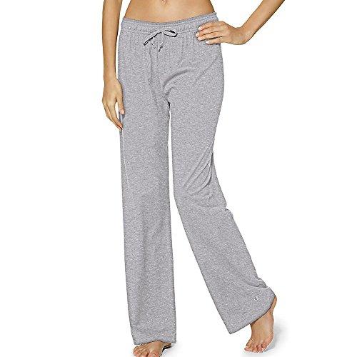 Champion Women's Jersey Pant, Oxford Grey, Large