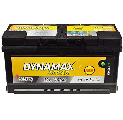 AGM 100Ah Solarbatterie Versorgungsbatterie 12v Akku Verbraucherbatterie