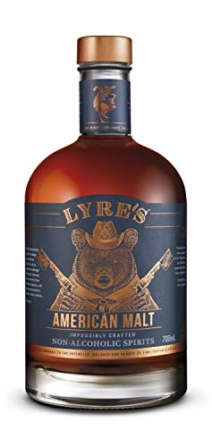 Lyre's American Malt Non-Alcoholic Spirit - Bourbon Style | Award Winning | 700ml
