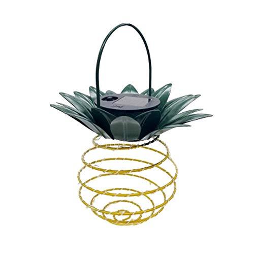 Hainice LED jardín Colgante Luz Solar al Aire Libre Impermeable de la luz de la lámpara Creativa de piña para el pórtico del césped Patio Patio