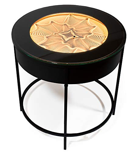 Sisyphus Metal Side Table (Black Metal)