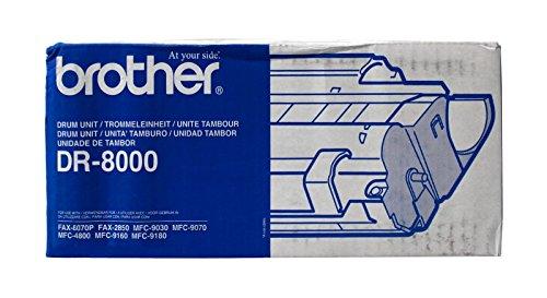 Brother Trommel DR-8000 für Laserdrucker, für Fax-8070P, MFC-9030/9070 / 9160/9180, schwarz