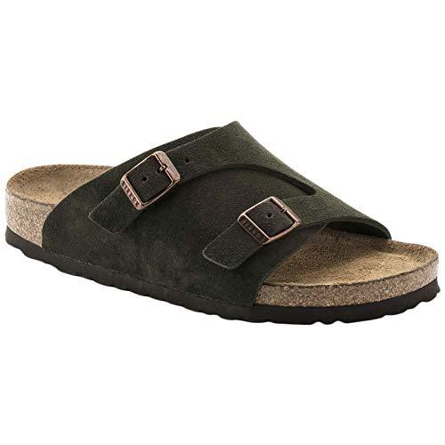 Birkenstock Unisex Zurich Soft Footbed Suede Mocha Sandals 7 W / 5 M US