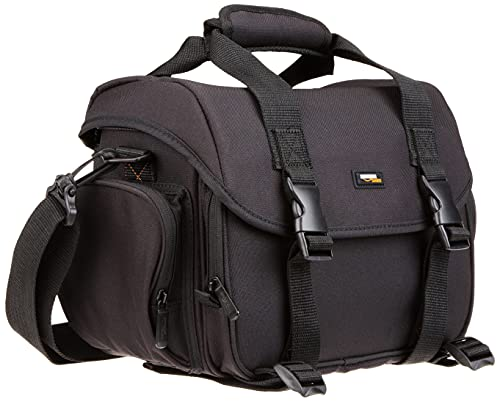 AMAZONBASICS Large DSLR Camera Gadget Bag