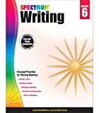 Spectrum 6th Grade Writing Workbook—State Standards for Informative, Argumentative, and Story Writing With Writer's Handbook and Answer Key for Homeschool or Classroom (136 pgs)
