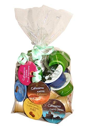 Tchibo Cafissimo Probierpaket All in One (Kaffee, Espresso, Caffé Crema, Tee, Filterkaffee)