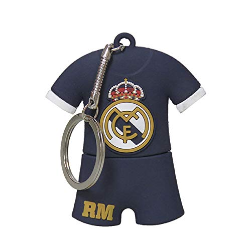 Real Madrid USB-13-RM pendrive rubber T-shirt, 16 GB