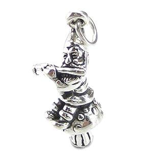 sitting Toadstool sterling silver SSLP2826