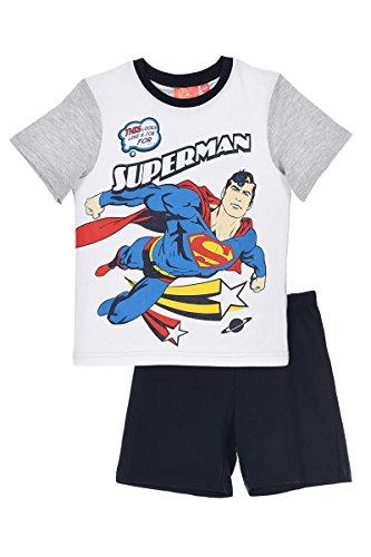 Superman Pijama corto para niño azul 3 Años