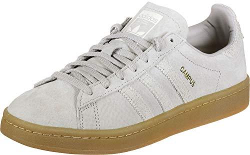 adidas Campus W, Zapatillas de Gimnasia Mujer, Gris (Grey Two F17/Grey One F17/Gum4), 36 2/3 EU