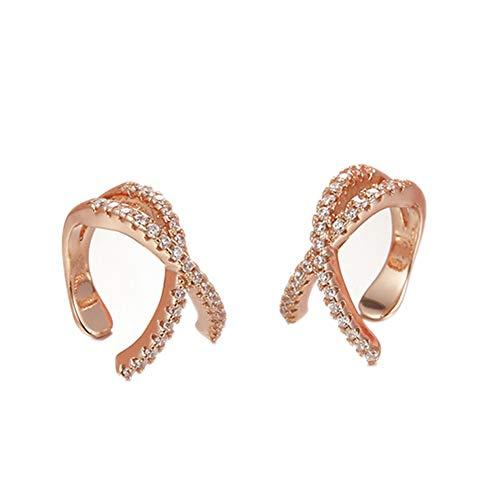 Ruluti Ear Cuff Clip del Oído En Los Pendientes Perforación del Cartílago No Pendientes para Suministros Muchachas De Mujeres