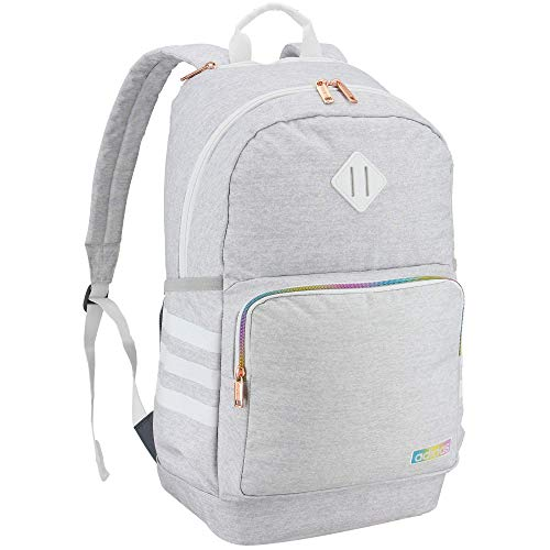 adidas Deporte atlético, Unisex, 977983, Jersey White/White Rainbow, Talla única