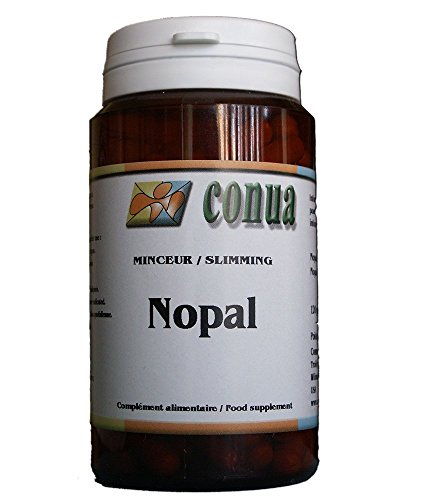 Nopal satiété coupe faim naturel facilite le transit intestinal 120 gélules en poudre de 375 mg (cactus figuier de Barbarie) pour contrôler son poids
