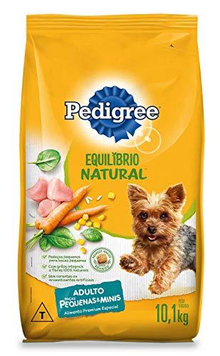 Ração Pedigree Equilíbrio Natural para Cães Adultos de Raças Pequenas 10,1 kg