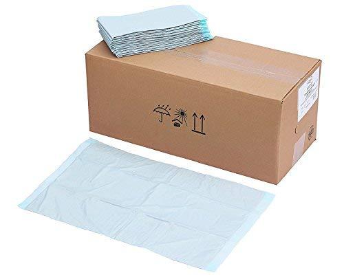 100x 6-lg 40x60cm Zellstoff Krankenunterlage Einmalunterlagen Wickelunterlagen Tierunterlagen babyunterlagen Inkontinenz