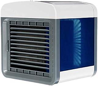 HSJDP USB Mini Aire Acondicionado portátil humidificador purificador purificador de Aire de Escritorio Ventilador Enfriador de Aire Ventilador Oficina hogar
