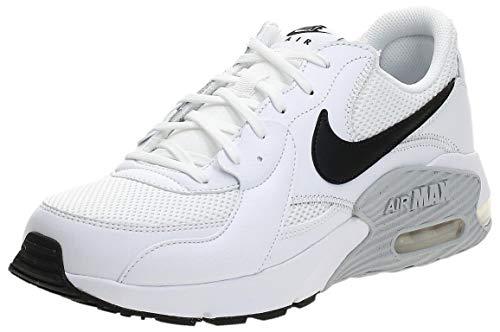 Nike Air MAX Excee, Zapatillas Hombre, Blanco (Platino Puro Blanco/Negro), 41 EU