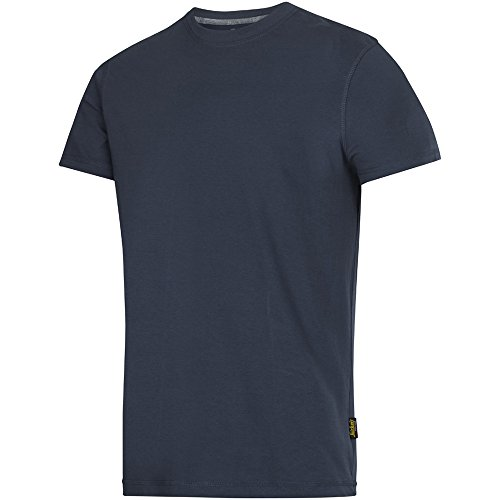 Snickers Workwear 25029500006 Maglietta a Maniche Corte, Blu (Navy 9500), L
