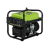 qiwangsheng Generador Electrico Portatil Generador para Camping Generador De Gasolina Ultra Silencioso Exterior Pequeño Inversor Digital-Inversor Digital De 2 Kw (No Silencioso)