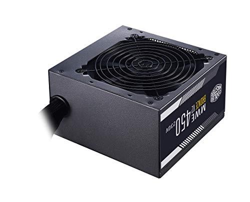 Cooler Master MWE 450 Bronze 230V V2 - unità Alimentazione EU, 80 Plus Bronze, Ventola HDB con Controllo Termico, Convertitore DC-to-DC + LLC con Single +12V Rail - Garanzia 5 Anni