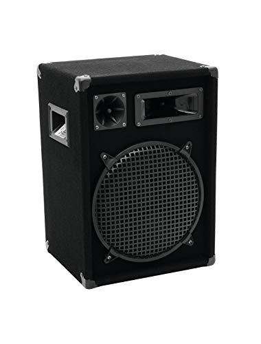 OMNITRONIC DX-1222 3-Wege Box 600 W   Robuste Full-Range-Box mit 12