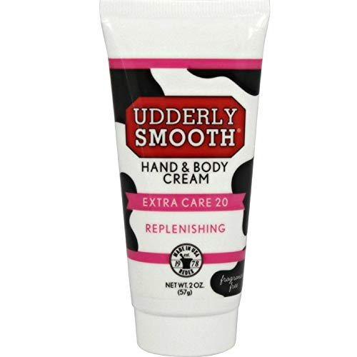 Udderly Smooth Hand & Body, Extra Care 20 Cream 2 oz ( Pack of 12)