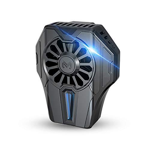 Lilon Ventilador de refrigeración para teléfono con clip en línea frío MEMO DL01 para teléfono PUGB enfriador de calor de disipación de la caja del teléfono
