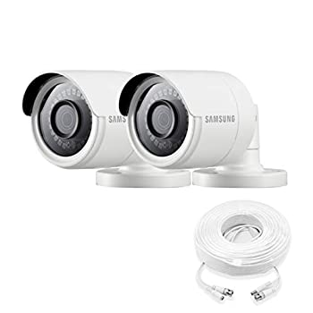 Samsung Wisenet SDC-89440BB-2PK - 4MP Weatherproof Bullet Camera  2-Pack  Compatible with SDH-C85100BF