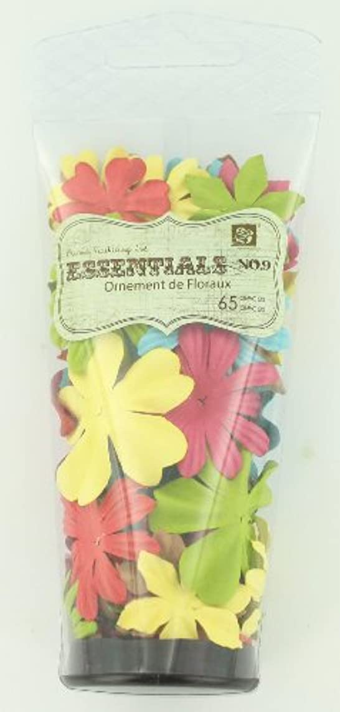 Prima 540029 Raspberry Tea Flower Embellishments, Essentials Solid